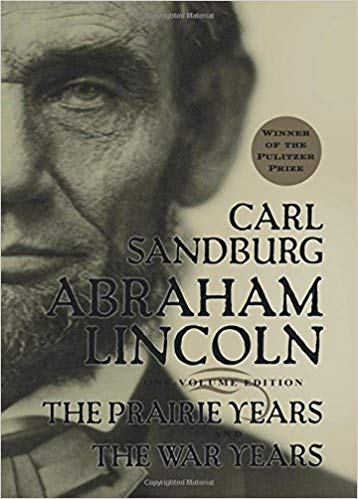 Cover of Abraham Lincon: The Prairie Years & The War Years, by Carl Sandburg