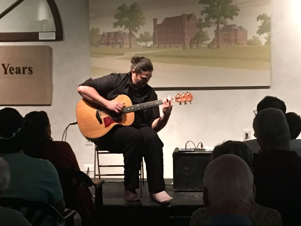 Andreas Kapsalis -Sandburg Songbag - Sunday, July 12, 2020 - 2:00pm