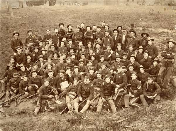 Company C, 6th Infantry Regiment of Illinois Volunteers, 1898 - Spanish American War