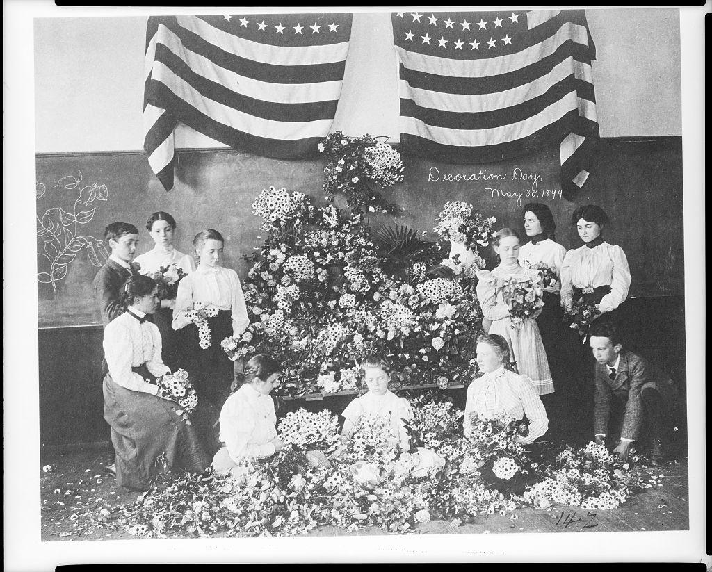 Decoration Day, 1899 - Photo - Library of Congress