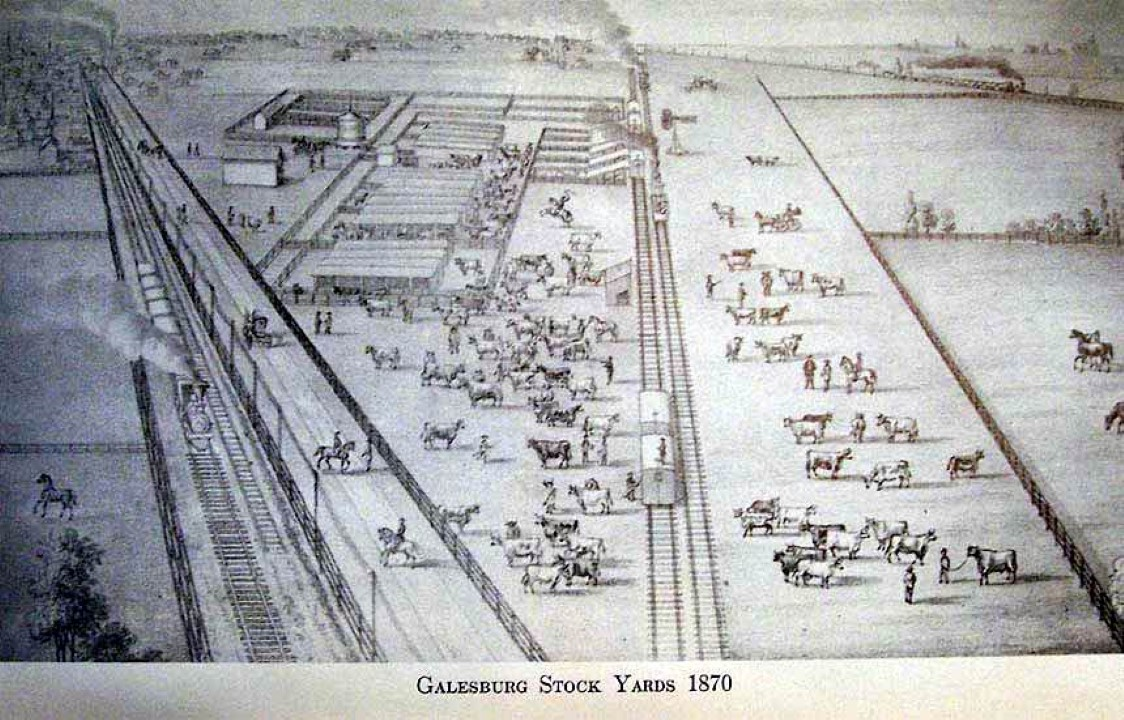 Galesburg Stockyards