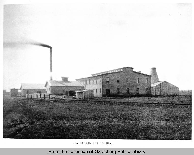 Galesburg Pottery Company, 1895 - From the Collection of Galesburg Public Library