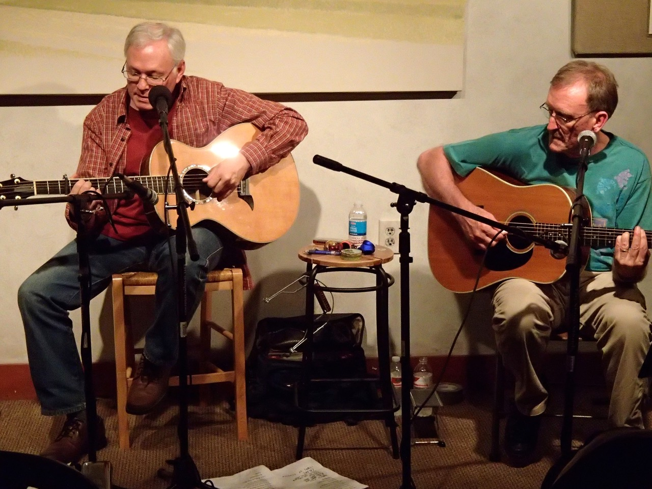 John Heasley & Jerry Schroeder - Songbag Concert - May 13, 2018, 4:00pm