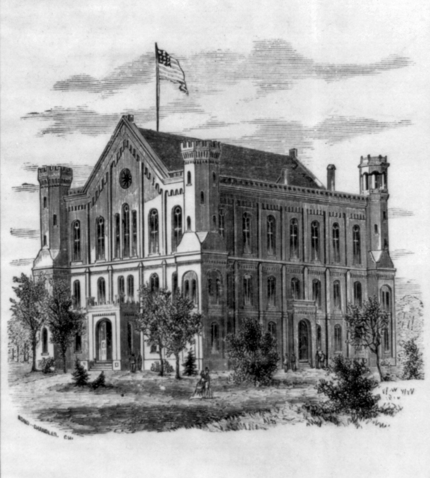 Lombard College Old Main (circa 1876)