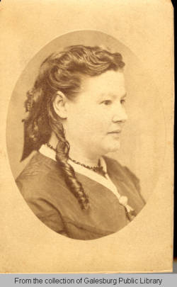 Mary Allen West - ca 1860