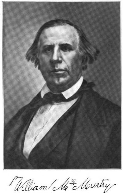 Portrait of William McMurtry, Knox County pioneer