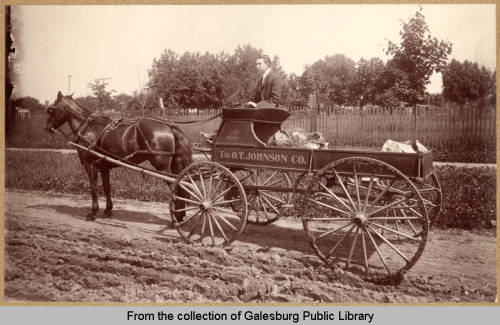 O.T. Johnson Delivery Wagon, ca.1880