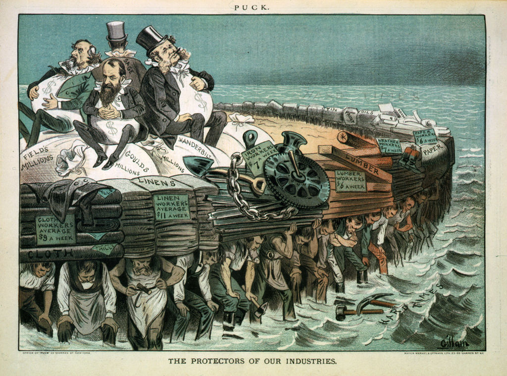 The Protectors of Our Industries -19th century Robber Barons