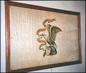 Original Illlinois State Flag - Knox County Courthouse
